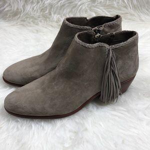 Sam Edelman Shoes - Sam Edelman 'Paige' Suede Fringes Ankle Boots